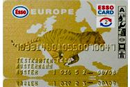 Tarjeta descuento ESSO EUROPA EXPRESS