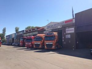 Presentación nuevo camión DAF Euro 6 en León